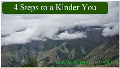4 Steps to a Kinder you, Shailaja, Doting Mom