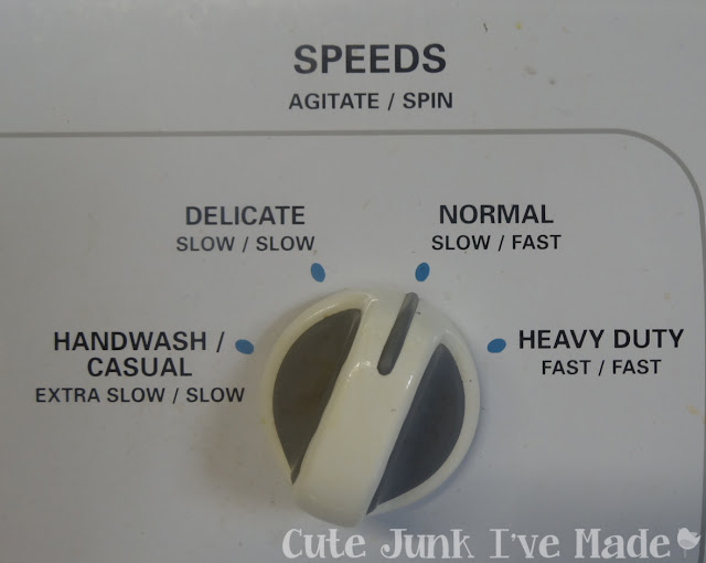 Spring Cleaning:  The Bedrooms -Washer Speed