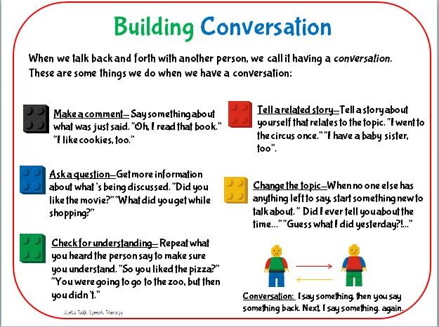 Letu0026#39;s Talk Speech Therapy: Building Conversation