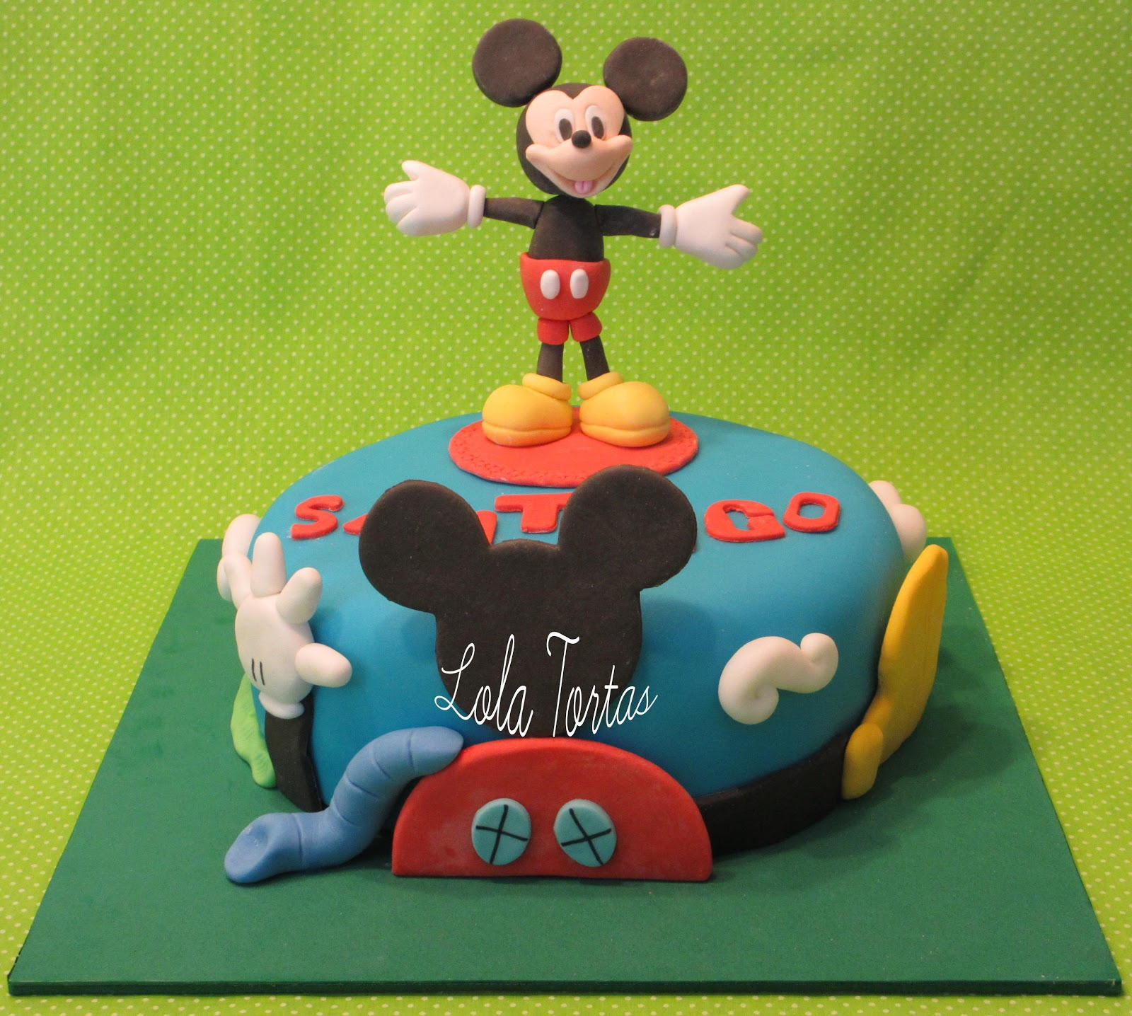 Lola Tortas: Torta Mickey Mouse Playhouse