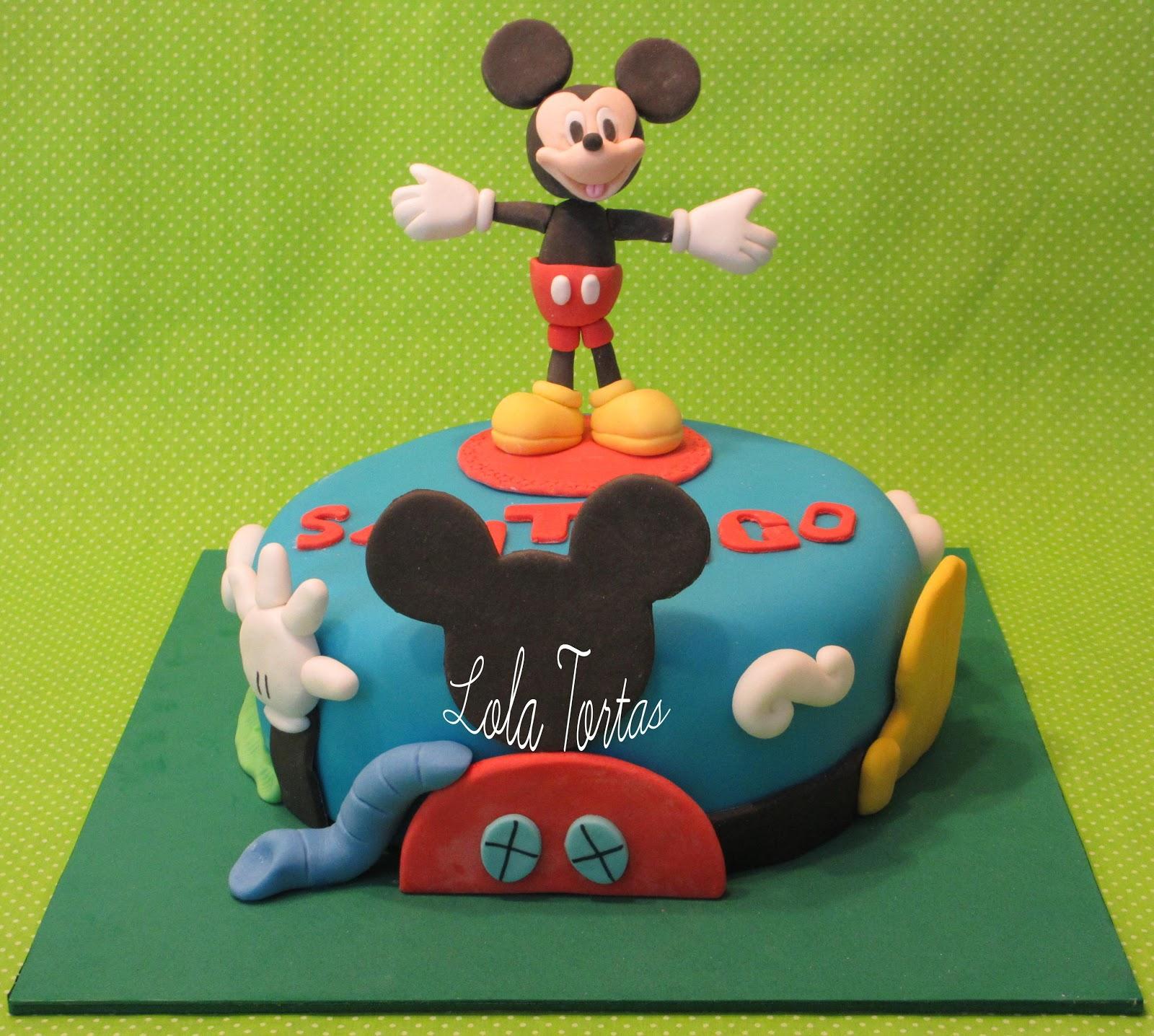 Lola Tortas: Torta Mickey Mouse Playhouse