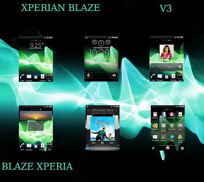 ROM Xperian Blaze V3 Xperia Style