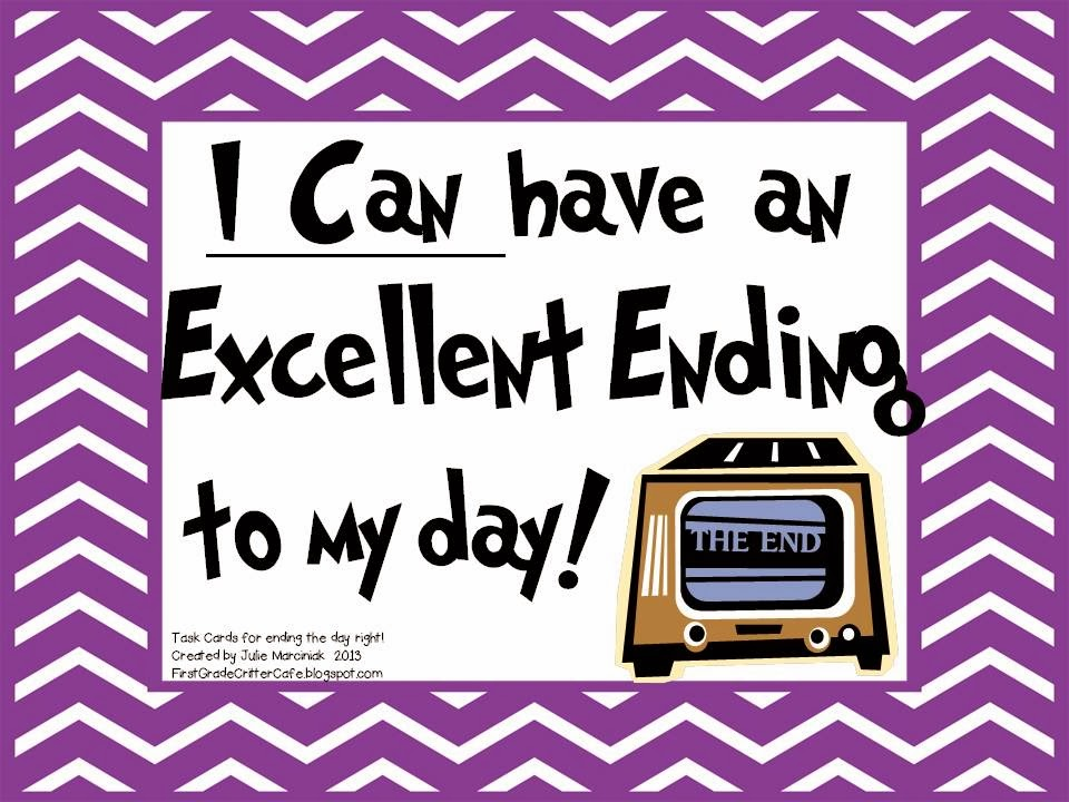 http://www.teacherspayteachers.com/Product/I-Can-Have-an-Excellent-Ending-to-my-Day-Routine-Task-Cards-814588