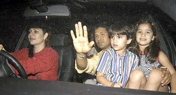 Unseen photos of Sachin Tendulkar family
