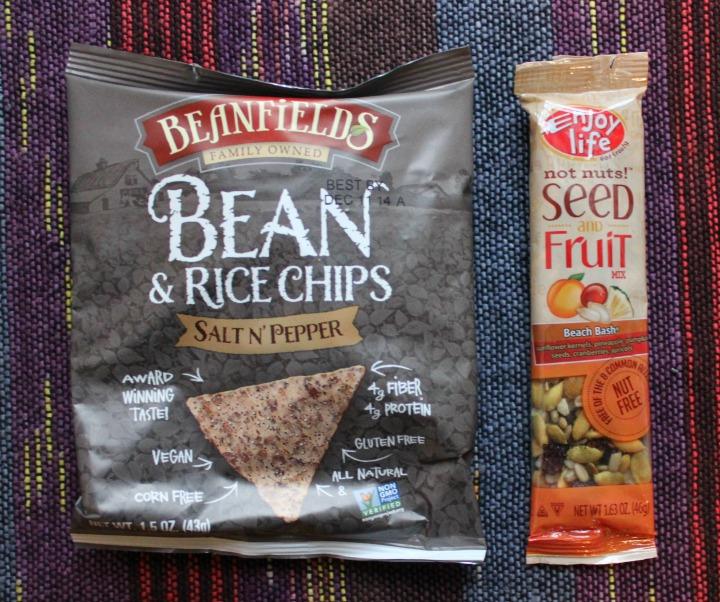 Beanfields Bean & Rice Chips Salt N' Pepper Enjoy Life Seed & Fruit Mix - Beach Bash