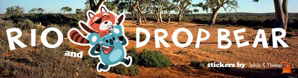 Rio and Drop Bear
