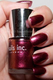 Nails inc. New Burlington Place. Taken indoors under artificial lighting