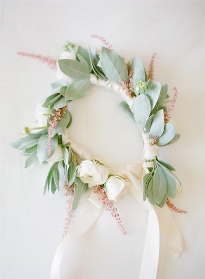 flores boda tono empolvado