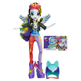 MLP Equestria Girls Friendship Games Sporty Style Deluxe Rainbow Dash Doll