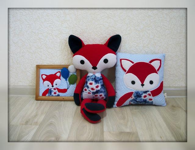 текстильный набор в детскую