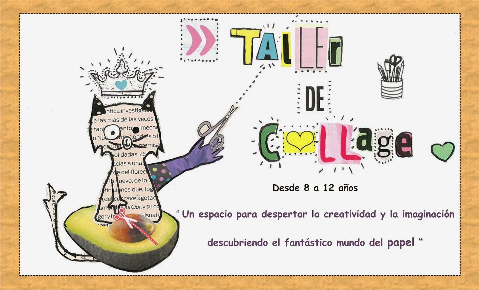 Trama & Papel: Taller de collage para niños