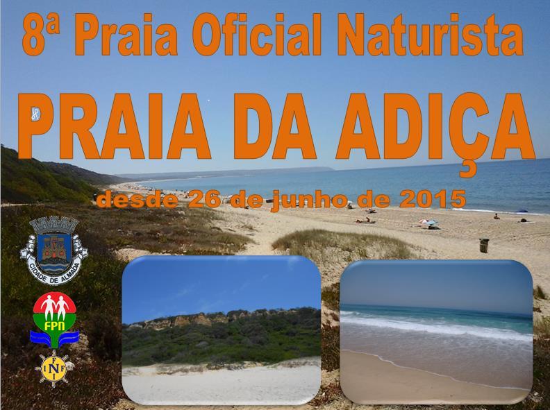 Praia da Adiça - Legalização