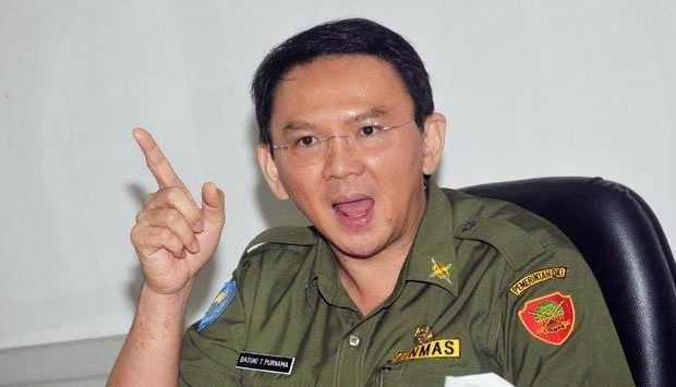 Foto Basuki Tjahaja Purnama Wakil Gubernur DKI Jakarta