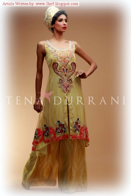 Tena Durrani Eid Ul Azha Collection 2014