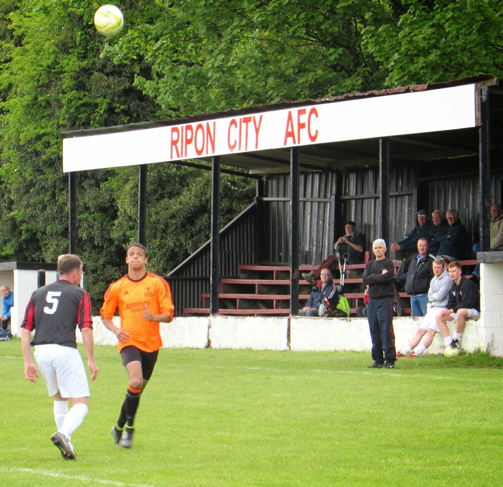 In Idle West Yorkshire: THE66POW: Ripon City 3 V Oxenhope Recreation 2, West