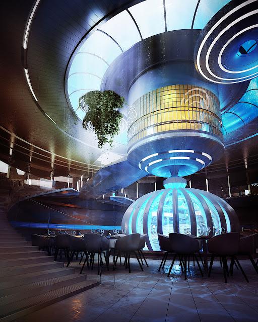 Passion for luxury underwater hotel planned in dubai for Designhotel 21