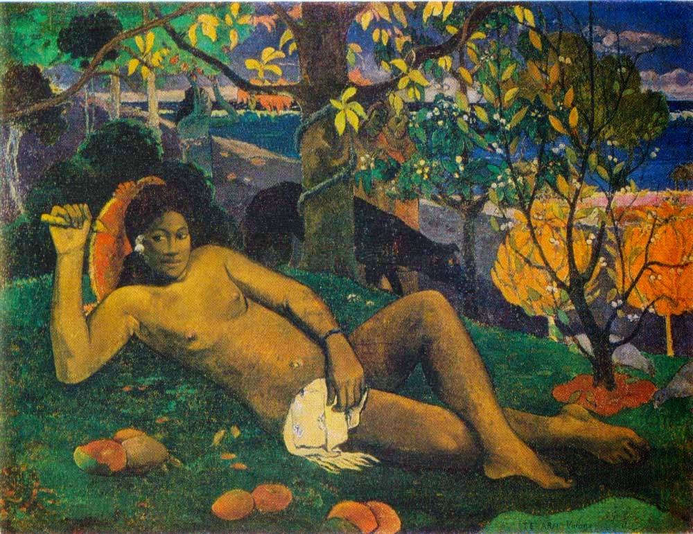 Paul Gauguin - La femme du roi,1896.