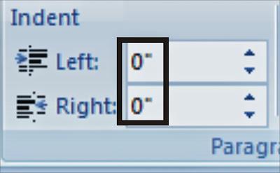 Cara mengubah ukuran Inch ke Centimeter dalam microsoft Word
