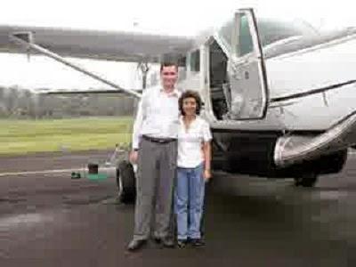 Foto Susi Pudjiastuti Pesawat pribadi
