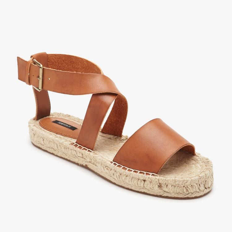 Forever 21 Vince Espadrille Flat Sandals