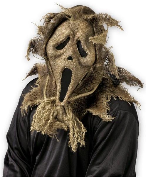 Máscara Scream Espantapájaros