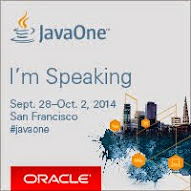 I'm speaking at JavaOne