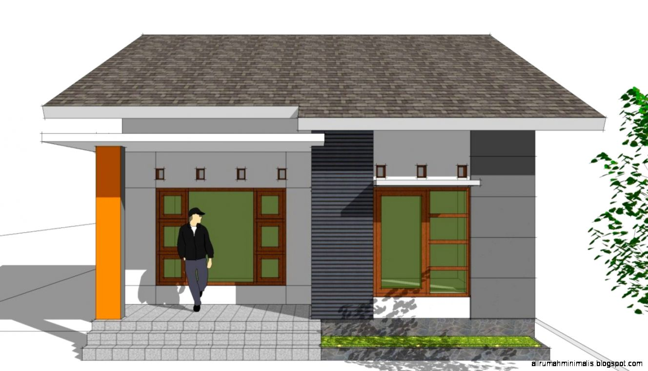 Model Rumah Sangat Sederhana Untuk Keluarga Baru   Rumah minimalis