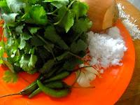 coriander pulav