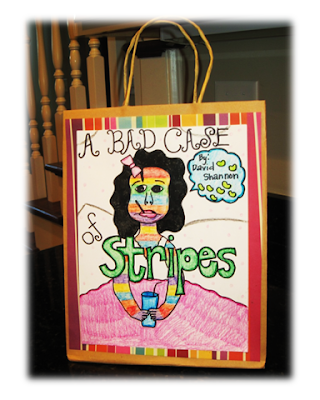 book report in a bag project Book report in a bag rubric name: section: items related to the story and bag was decorated with characters 4 bag was decorated and contained 5 items .