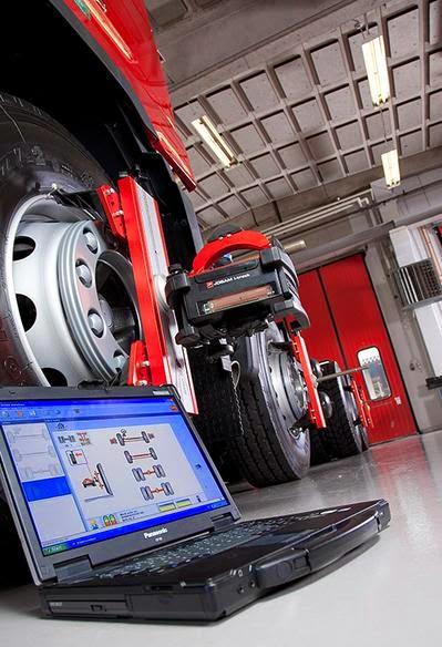 Alinear el rodamiento del auto con el wheel aligner ahorra dinero