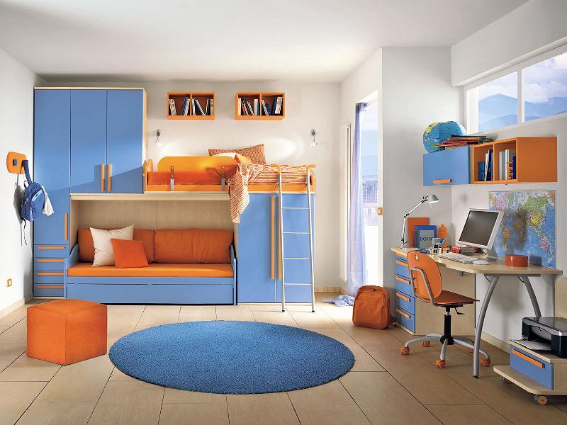 Habitaciones infantiles para dos ni os ideas para - Habitacion nino 2 anos ...