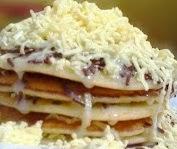 cara dan resep membuat pancake keju