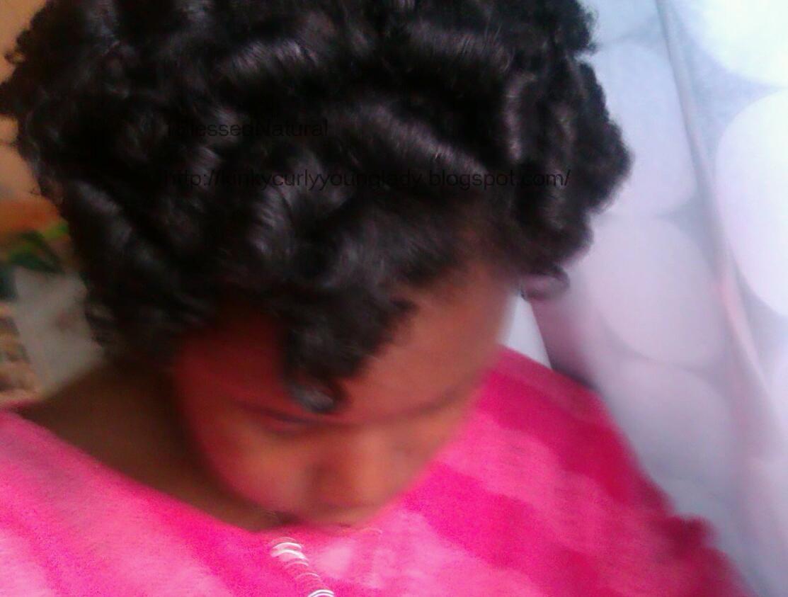 Satin Pillow Rollers Natural Hair
