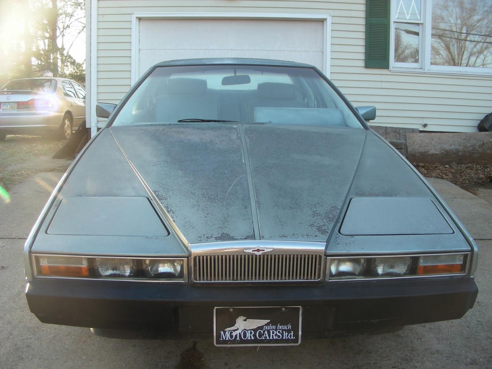 just a car geek: 1983 aston martin lagonda - a scary project