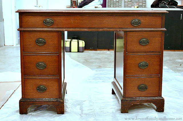 Goodwill Desk Makeover