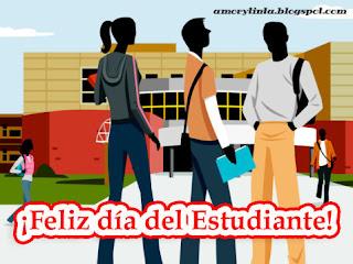 celebrando el dia del estudiante
