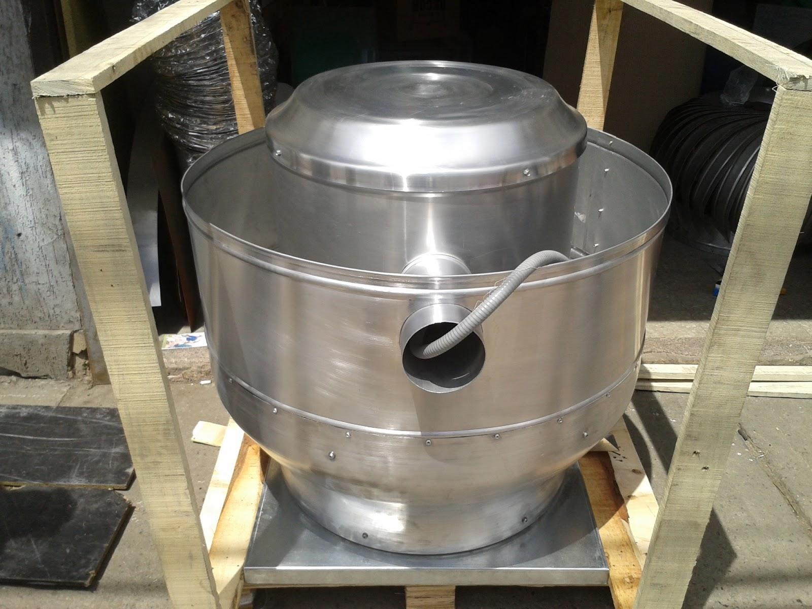 Sistemas de extraccion y ventilacion extractor tipo hongo for Extractor cocina industrial