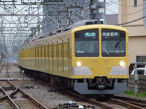 西武新宿線 準急 西武新宿行き 新101系(引退)