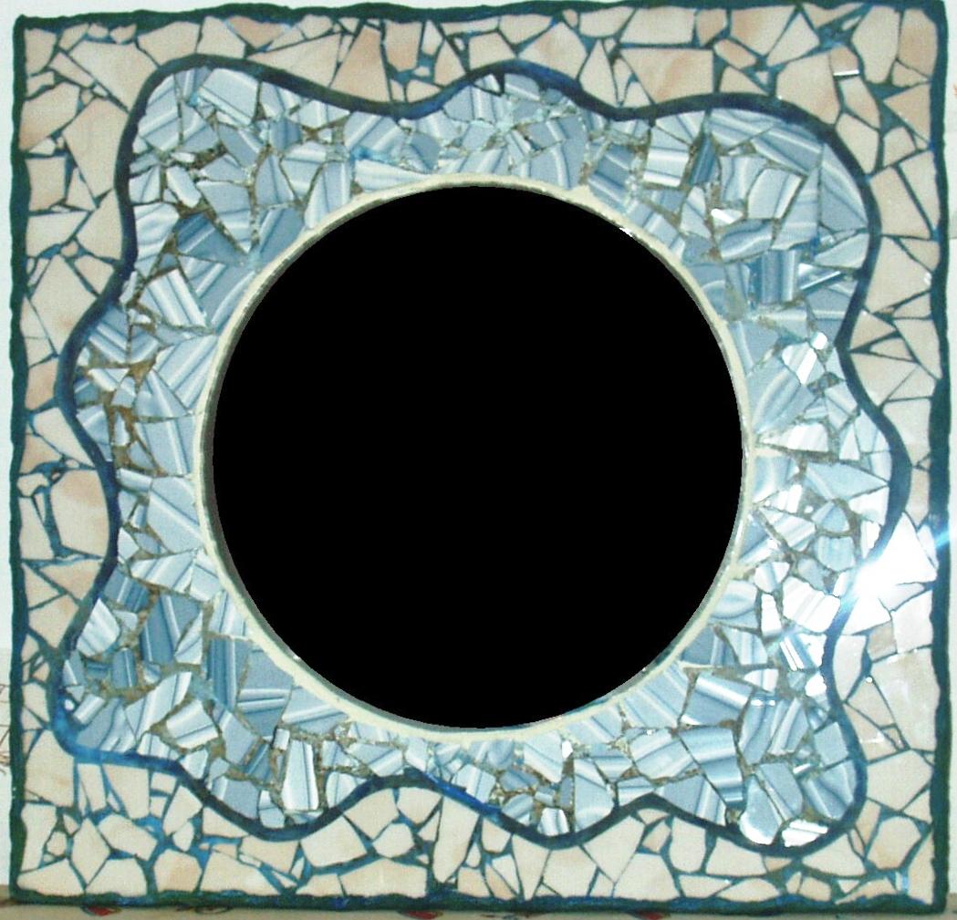 Creaciones arisp n espejos azules - Azulejos colorines ...