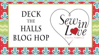 Deck the Halls Benartex Hop
