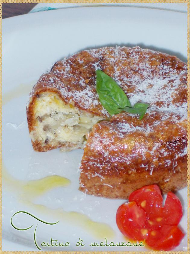 Melanzane con provola parmigiano al forno