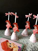 Ariel Cake pops
