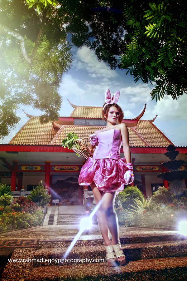 foto model konsep kelinci rabbit 5