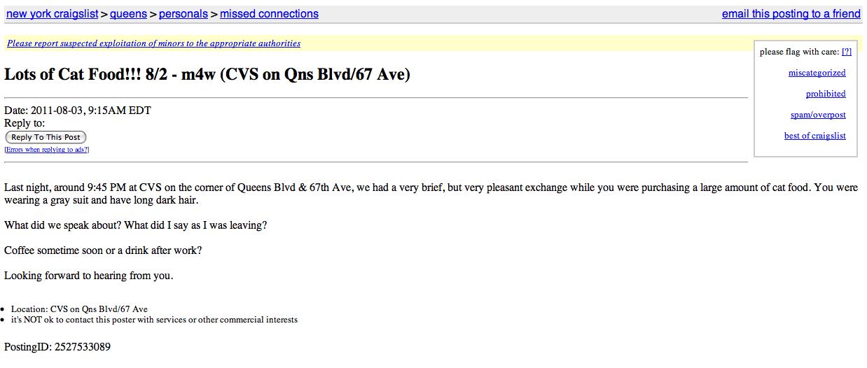 Craigslist new york city dating | Queens Ny Craigslist ...