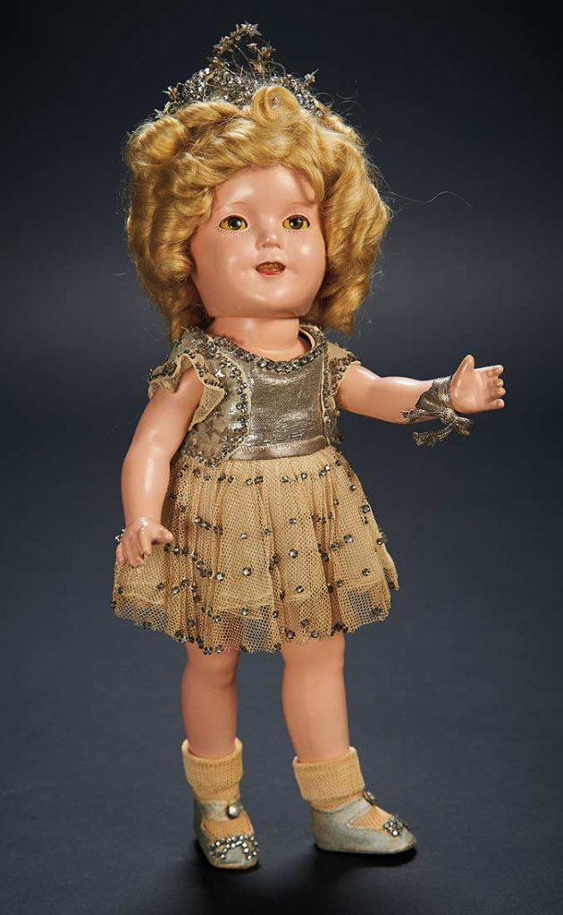 Shirley Temple auction results