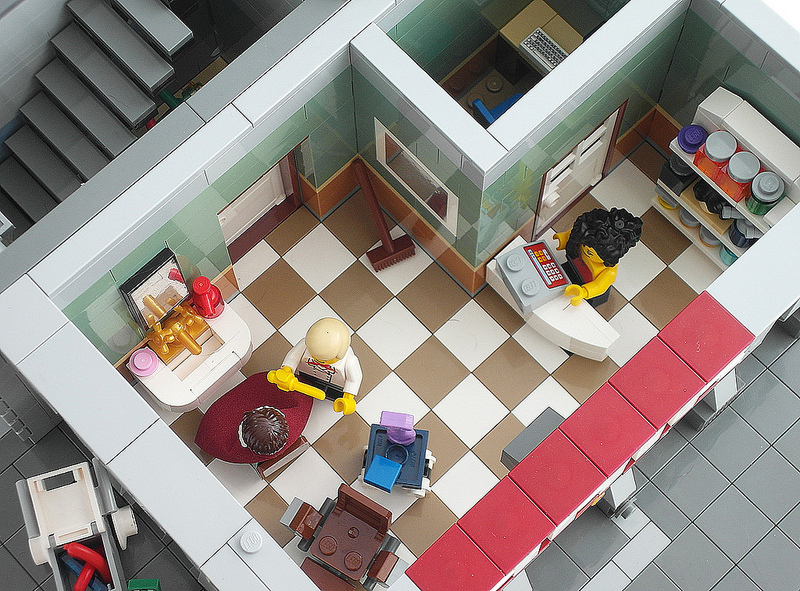 Detoyz Shop Lego Moc Terrace Apartment