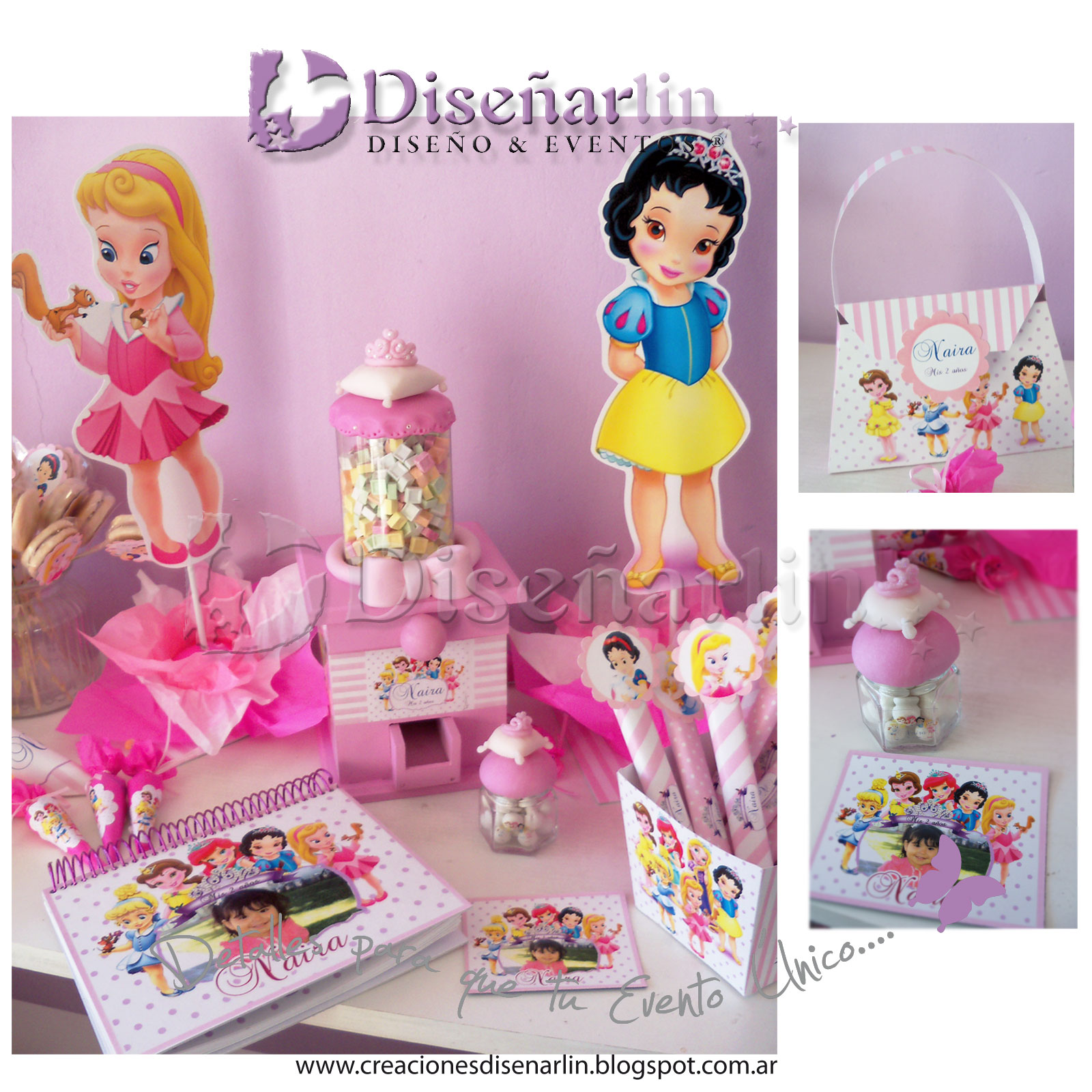 Dise arlin mendoza invitaciones y souvenirs originales y - Detalles originales para cumpleanos infantiles ...