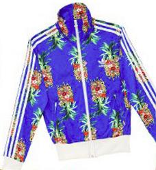 jaqueta Farm e Adidas Originals estampa de abacaxi