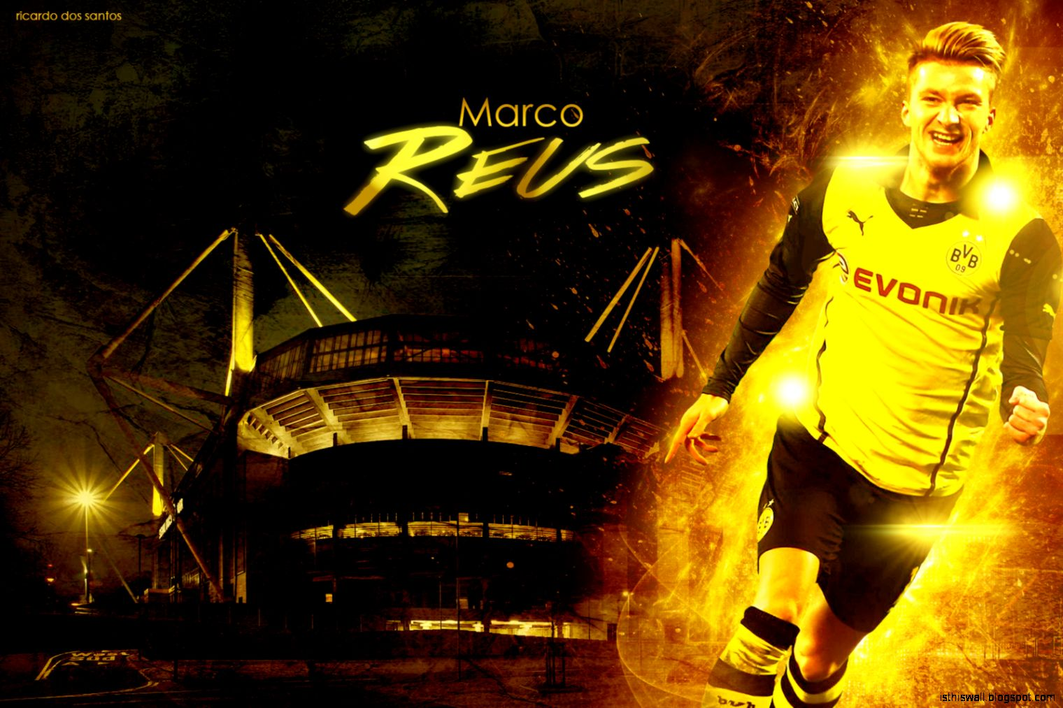 Marco Reus Borussia Dortmund 2014 Wallpaper by RicardoDosSantos on
