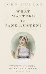 What DOES Matter in Jane Austen's Novels?